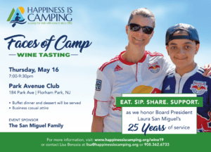 Faces of Camp Wine Tasting @ Park Avenue Club | Florham Park | New Jersey | United States