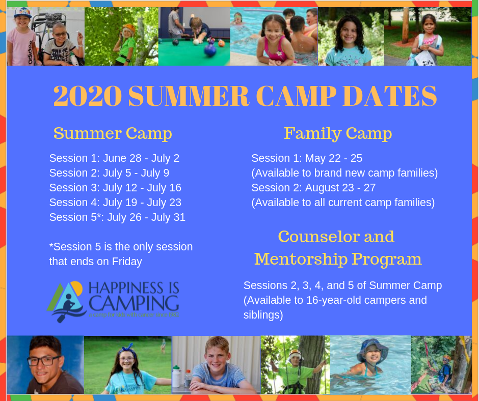 Summer Begins 2020.2020 Camp Dates Time To Start The Countdown Happiness Is