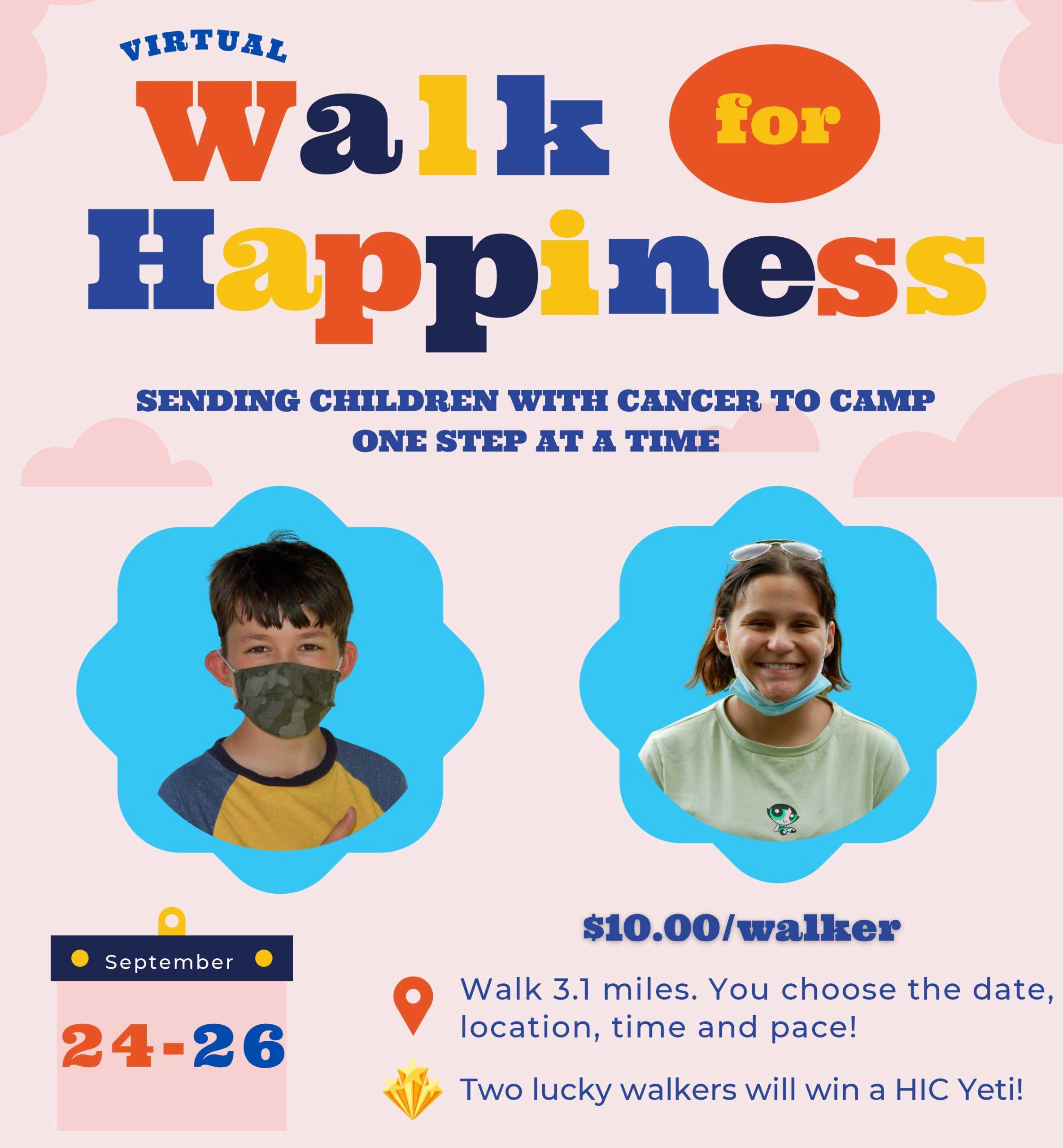 Happiness Is Camping Virtual Walk